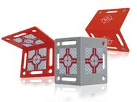 Winkel-Vermessungs-Plaketten RS80, RS90 und RS100